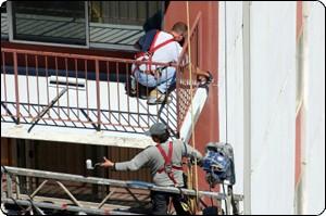 Painting Contractors working
