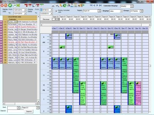 Pest Control Job Calendar