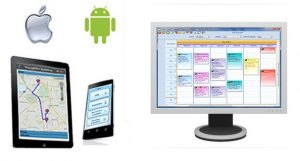 Desktop scheduling software for service businesses