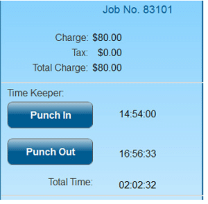 Tack employee feature in a SM Mobile App