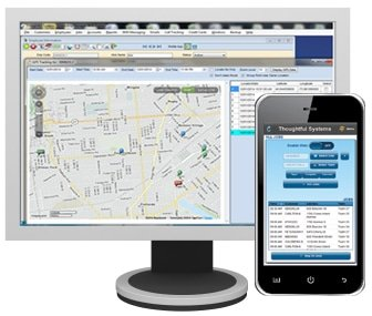business management software on desktop and mobile